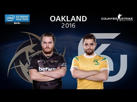 CS:GO - NiP vs. SK [Nuke] Map 2 - Grand Final - IEM Oakland 2016