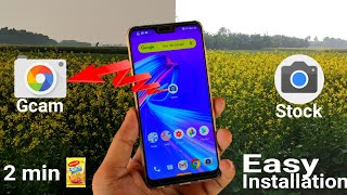 How To Install Google Camera (Gcam) On Zenfone Max Pro M2  Without Root 2 minutes