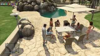 GTA 5 EASTER EGGS: Playboy mansion (GTA V PLAYBOY MANSION EASTER EGG)