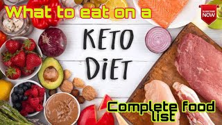 Ketogenic diet || What to eat on keto diet || How much to eat on keto diet || Ketogenic food