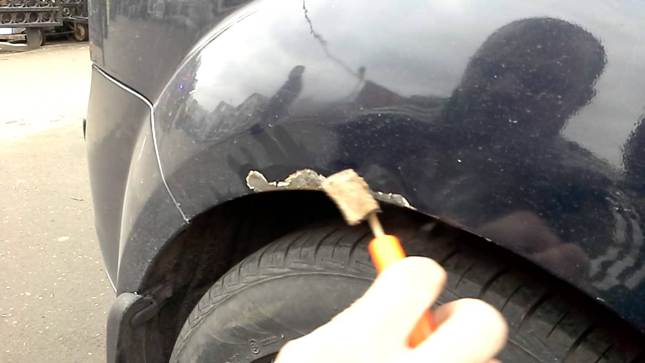 Защита от ржавчины кузова автомобиля своими руками