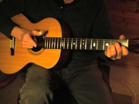 EZ Fingerpicking Blues Lesson for Beginners - Free TAB - Goodmorning Blues by Brownie McGhee