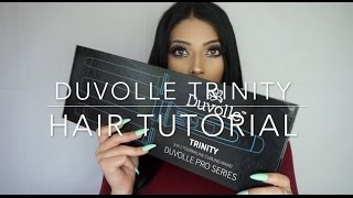 DUVOLLE STYLING TOOL HAIR TUTORIAL
