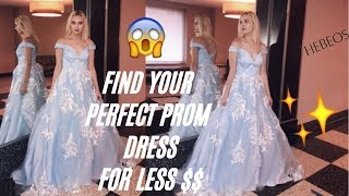 FIND YOUR PEFRECT PROM DRESS CHEAP!✨ (HEBEOS.COM)