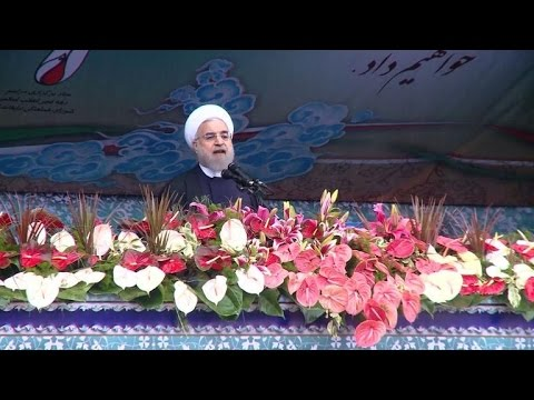Rouhani tells world: No end to Middle East strife without Iran