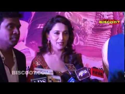 Madhuri Dixit, Juhi Chawla, Jacqueline Fernandez at Gulaab Gang Screening
