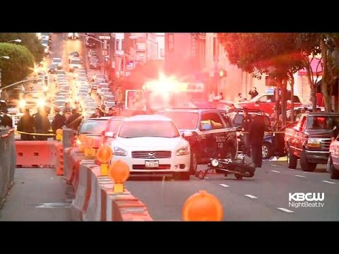 S.F. police kill woman who drove car at cops, vehicles