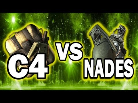 MW3 Tips and Tricks - C4 vs. Lethal Grenades (Modern Warfare 3 Frag Semtex Grenade)
