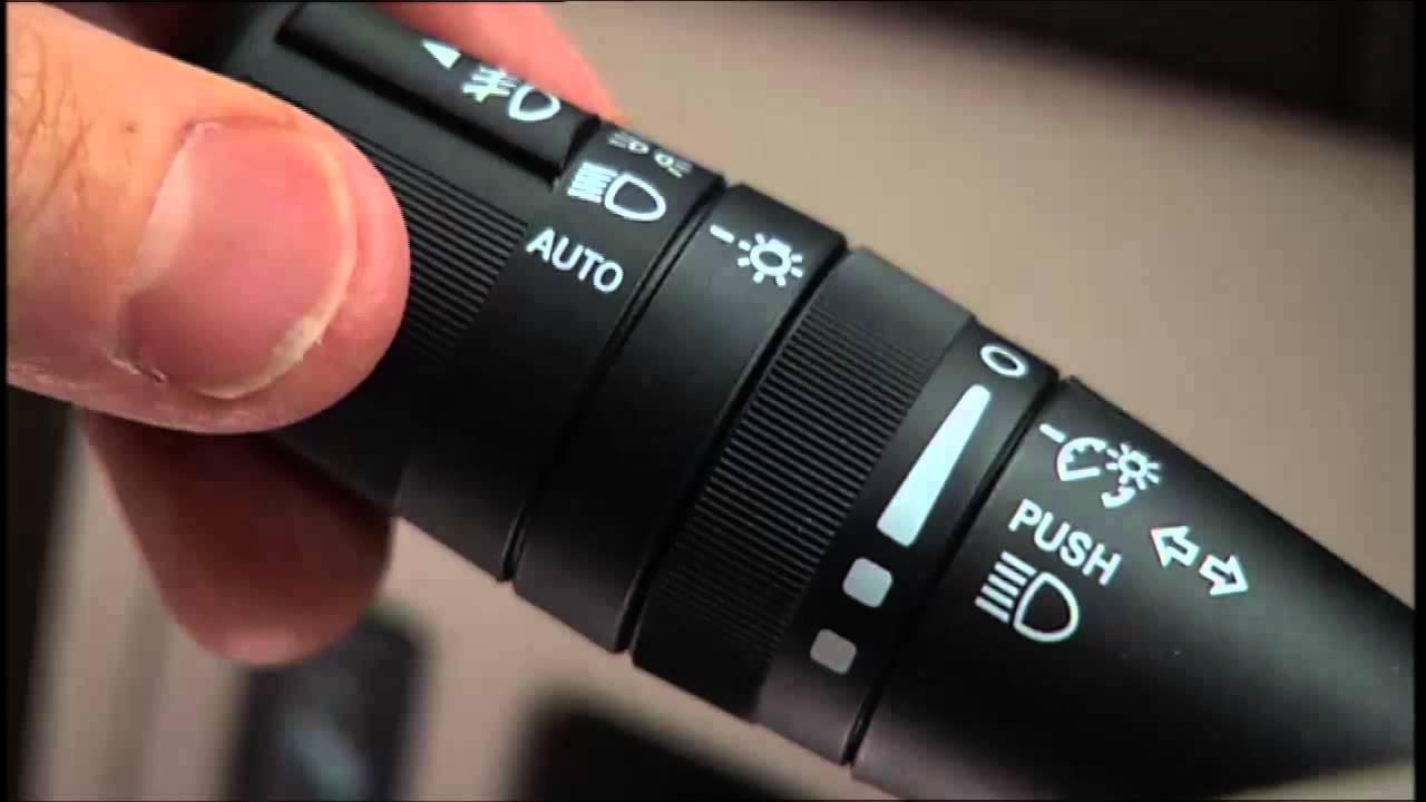2014 Chrysler 200 Light Dimmer Control Amp Fog Lights Youtube