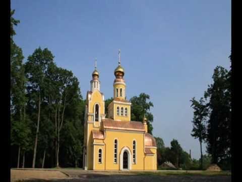 Золотые купола в посёлке Железнодорожный.