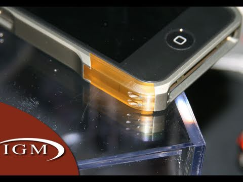 Element Case Vapor Pro, Ion, Formula4 iPhone 4 Cases (CES First Look)