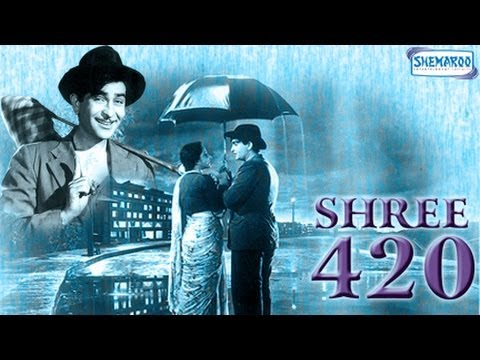Shree 420 - Part 1 Of 16 - Raj Kapoor - Nargis - Nadira - Bollywood...