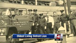 Retired Hamtramck Firefighter is Oldest living Detroit Lions