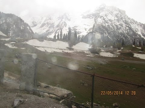 Thajiwas Glacier To Sonamarg - Full Return Journey HD Video