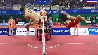 Thailand - Singapore 2014 ASIAN GAMES SEPAKTAKRAW