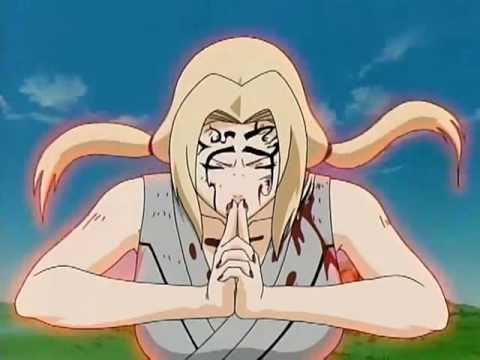 Tsunade Vs. Orochimaru (Birth of the Fifth).flv