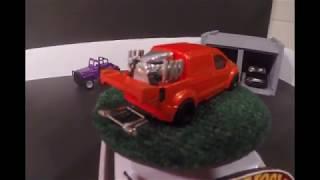 Ford Transit Drag Van .....Deep Junk Garage Race Car Challenge