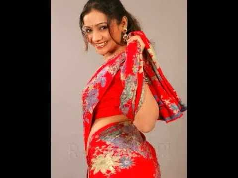 Meera Vasudev - Hot Red Saree video