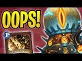WORST Misplay EVER?! | Mecha'thun Warrior | The Boomsday Project | Hearthstone