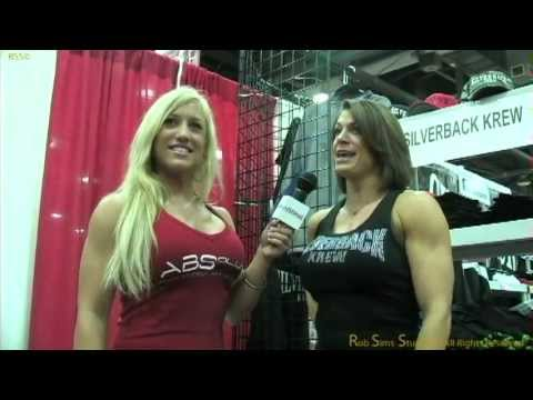 The Amazing Tracy Weller Talks With Mary Schmitt At The Arnold Classic 2012 About Rob Sims