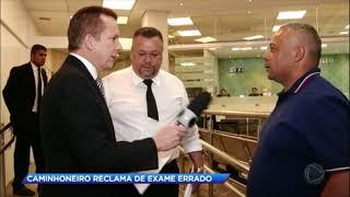 Caminhoneiro é preso após resultado de exame toxicológico errado que apontou o uso de cocaína