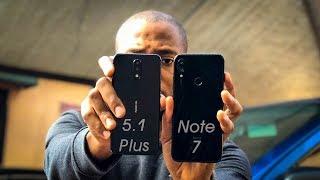 Xiaomi Redmi Note 7 vs Nokia 5.1 Plus (X5 Speed and RAM Management Comparison review
