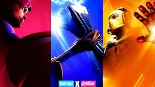 Fortnite X Avengers Crossover Update Countdown + Gameplay! (Fortnite X Avengers)