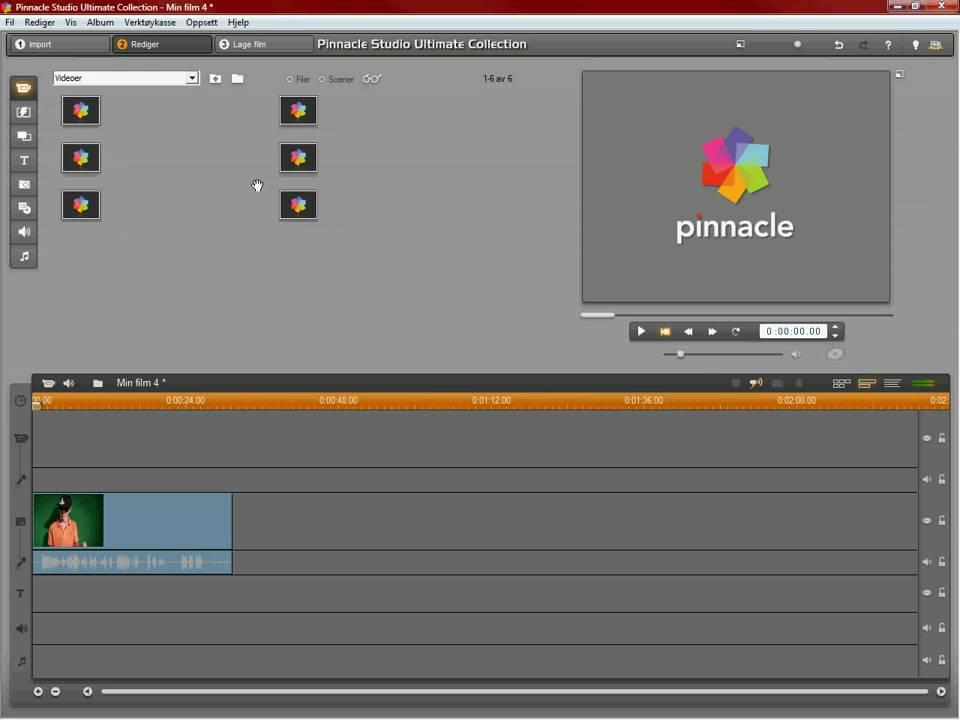 Как в pinnacle studio 15 сделать картинка в картинке