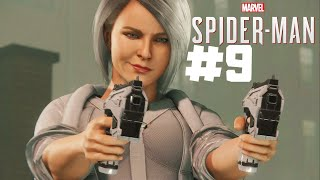 Marvel's Spiderman PS4 part 9   SILVER SABLE AND MILES MORALES!!
