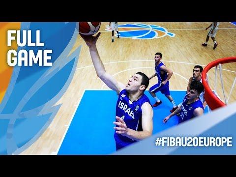 France v Israel - Full Game - FIBA U20 European Championship 2016