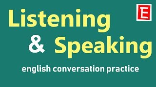 Daily English Conversation Practice   Listening and Speaking   Questions and Answers   English 4K
