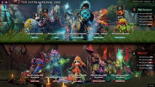 PSG.LGD vs TNC | The International 2019 | Dota 2 TI9 LIVE | Group Stage Day 1