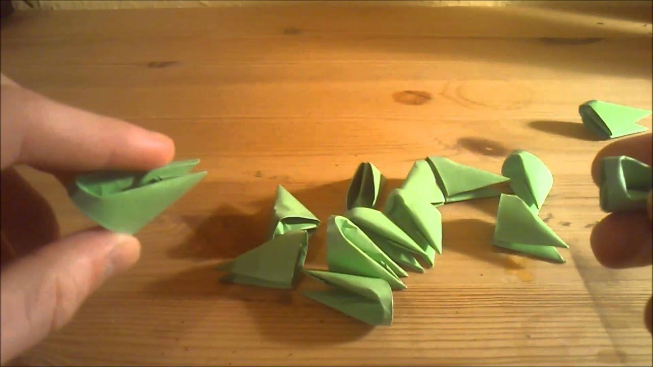 3d origami f r anf nger deutsch youtube. Black Bedroom Furniture Sets. Home Design Ideas