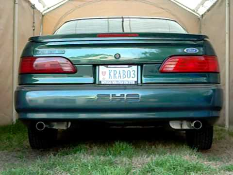 Autos For Sale >> 1994 Ford Taurus SHO exhaust - YouTube