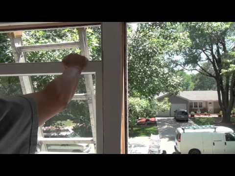 How to Install a Replacement Window in an Existing Frame (We used an Andersen Silver Line Window)