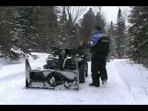 Bercomac Prestige ATV snowblower 700360