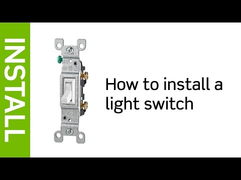 How To Install A Leviton Light Switch