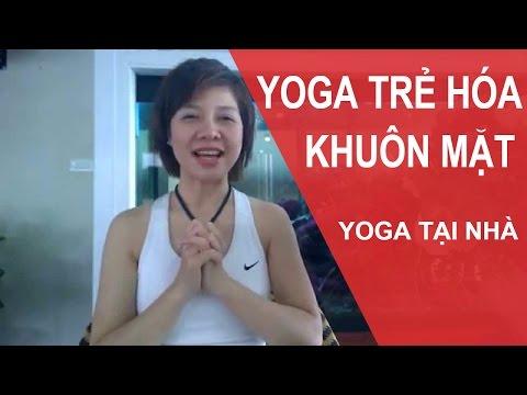 YOGA Cho Khuôn Mặt - Bài Tập Yoga Giúp Biến Mất Nọng Cằm Cho Khuôn Mặt Thon Gọn Hơn (Yoga Face)