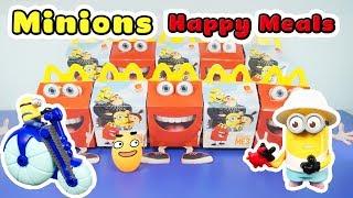 McDonald's - Đồ Chơi Happy Meal, Minions 2017 - ToyStation 71