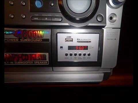 Adaptacion usb a equipo de sonido youtube - Instalar puerto usb en coche ...