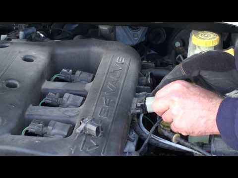 on 2007 Chrysler Sebring Crankshaft Sensor Location