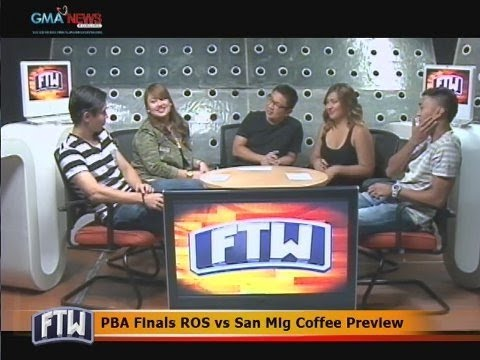 FTW: PBA Finals ROS vs. San Mig Coffee Preview