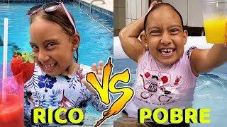 Rico VS Pobre na PISCINA - MC Divertida