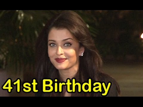 Aishwarya Rai Bachchan Celebrates Her 41st Birthday With Media