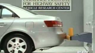Краш тест Hyundai Sonata 2007 (Bumper IIHS)