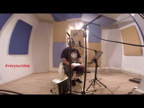 Paul Di'Anno - Vocal recording @ Jam2Studio