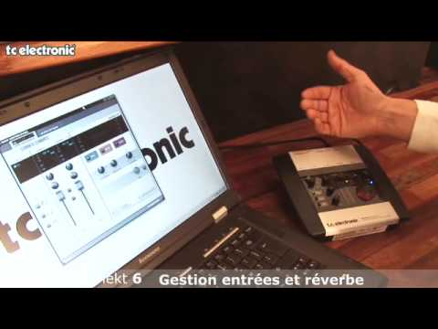 interface audio Desktop Konnekt 6 de TC Electronic : gérer les signaux en entrée, utiliser la réverbe