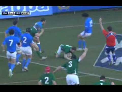 2011 Six Nations Highlights Italy vs Ireland - Italy vs Ireland 2011 Six Nations Highlights