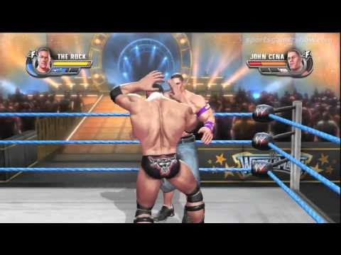 All Stars - Rey Mysterio Vs Ultimate Warrior + Finisher + Commentary