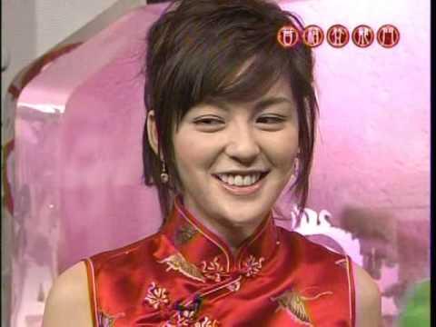 中野美奈子さんの懐かしいチャイナドレス